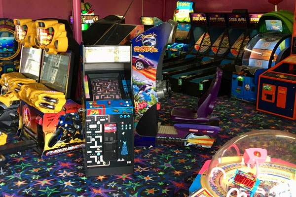 Arcade Games in Big Room